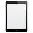 Vector digital tablet with blank screen