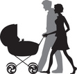 Baby Stroller,Young Family,...