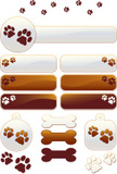 Dog,Paw,Pets,Backgrounds,Tr...