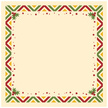 Frame,Christmas,Holly,Patte...