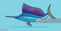 Purple,Animal,Vector,Sea,Illustration,No People