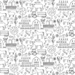 Horse,Pig,Doodle,Cow,Animal,Healthy Eating,Animal Markings,Chicken - Bird,Vector,Rural Scene,Farm,Architecture,Agriculture,Wild Cattle,Computer Graphic,Mammal,Drawing - Activity,Fruit,Pattern,Coloring,Illustration,Environment,Biology,Turkey - Bird,Shed,Seamless Pattern,Nature,Vegetable,White Color,Tractor