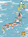 Japan Map,Abstract,Expertis...