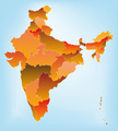India,Map,Vector,state,Ilus...