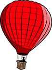 Hot Air Balloon,Flying,Bask...