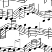 Musical Note,Music,Seamless...