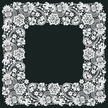 Floral Pattern,White,Classi...