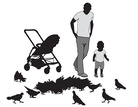Child,Baby,Males,Silhouette...