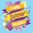 Flat,Summer,Vector,Design,I...