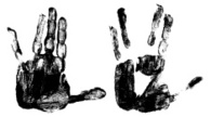Human Hand,Black And White,...