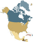 North America,Map,USA,Canad...