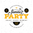 Summer party white