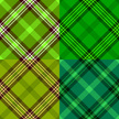 Plaid,Green Color,Pattern,B...