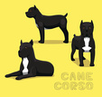 cane corso,Cut Out,Hunter,C...