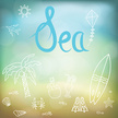 Decoration,Illustration,Sea...