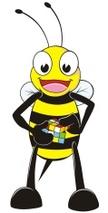 Bee,Puzzle Cube,Bumblebee,H...