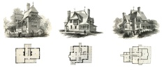 House,Sketch,Victorian Styl...