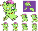 Zombie,Animation,Dead Perso...