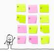 Ideas,Adhesive Note,Concept...