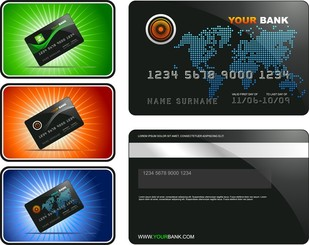 Bank Card Template