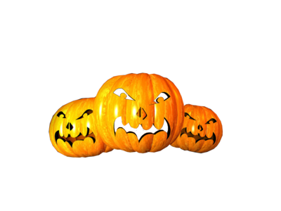 Scary Pumpkins PSD