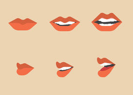 Free Mouth Talking Vector Pack