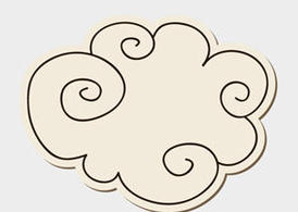 Doodle Cloud Vector - Free Vector of the Day #155