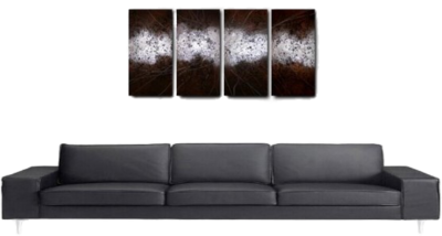 (Black Couch)