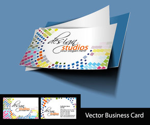 Business card vector-02