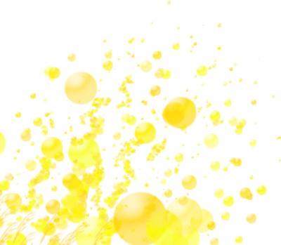 gold glowing sparks PSD