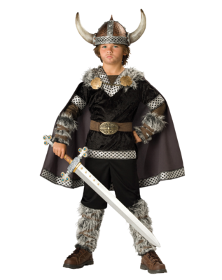 Viking Boy Costume PSD