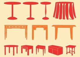Tables Silhouettes