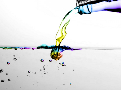 COLOR WATER PSD