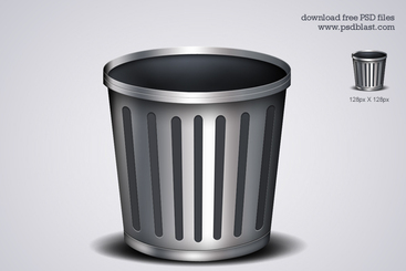 Trash Icon (PSD)