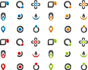 Stock Illustrations Icons-Logos Vectors