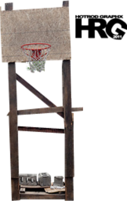 Old Basketball Hoop [Ghetto] [Perfect cut] [HD] PSD