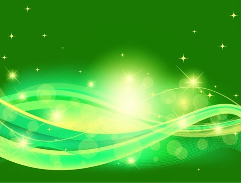 Abstract Green Background Design
