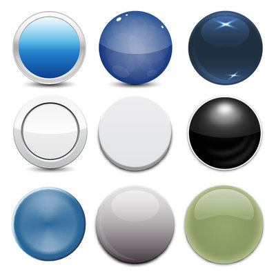 Glossy Web Button Pack
