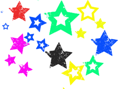 Color Stars PSD