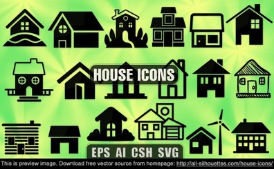 18 House icons
