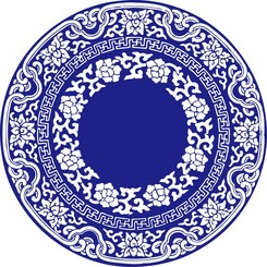 Chinese Style Blue And White