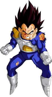 Battle Damaged Vegeta PSD
