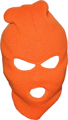 Red Ski Mask PSD