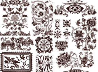 EXQUISITE CLASSIC TRADITIONAL PATTERN