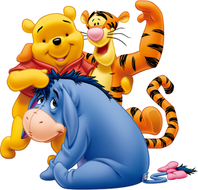 Winnie The Pooh And Friends PSD