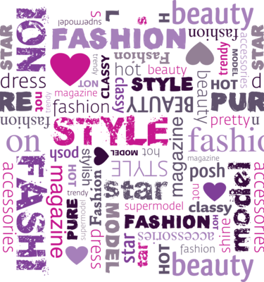 Fashion Collage Vector PSD