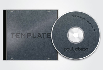 Vector CD and CD Cover Design Template Free