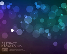 Vector Background with Bokeh
