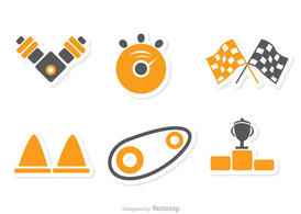Racing Icon Vector Pack 1