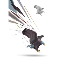 ATTACKING EAGLE VECTOR GRAPHICS.eps
